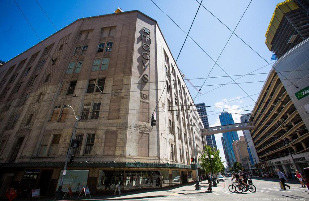Amazon landlord buys remainder of Macy's Seattle flagship store