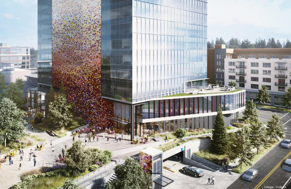 With Bellevue's OK, Vulcan ready to start tower once tenant is signed