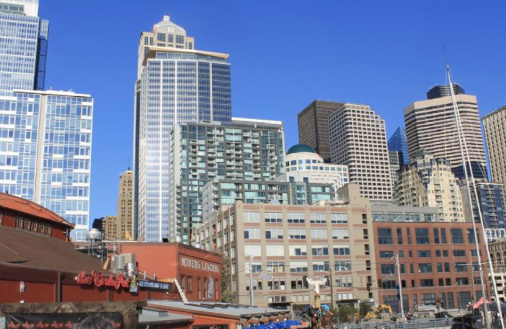 Seattle-area office rents still in a funk, but not slowing construction